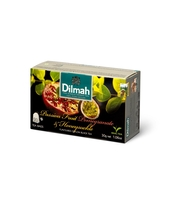 DILMAH PASSION FRUIT POMEGRANATE & HONEYSUCKLE FLAVOURED BLACK TEA 20X1,5 G
