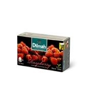 DILMAH RASPBERRY FLAVOURED BLACK TEA 20X1,5 G