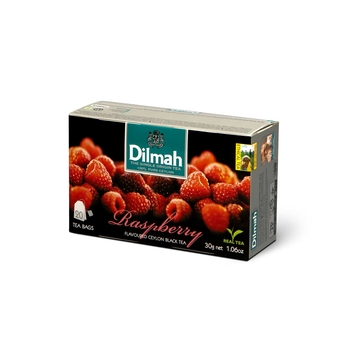 DILMAH RASPBERRY FLAVOURED BLACK TEA 20X1,5 G