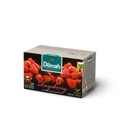 DILMAH RASPBERRY FLAVOURED BLACK TEA 20X2 G