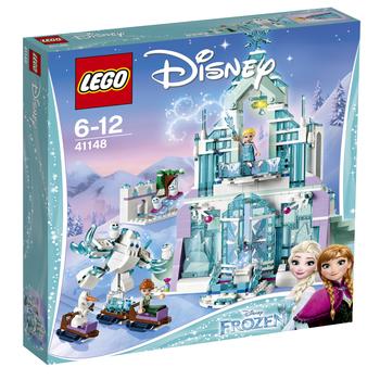 KLOCKI LEGO DISNEY PRINCESS MAGICZNY LODOWY PAŁAC ELZY 41148