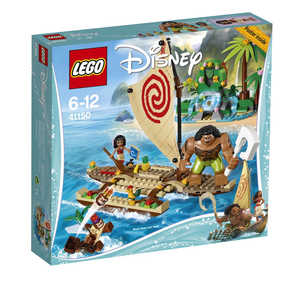 KLOCKI LEGO DISNEY PRINCESS OCEANICZNA PODRÓŻ VAIANY 41150