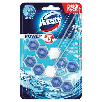 DOMESTOS KOSTKA DUO POWER5 OCEAN 2X55G