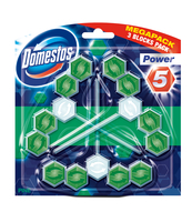 DOMESTOS KOSTKA TRIO POWER5 PINE 3X55G