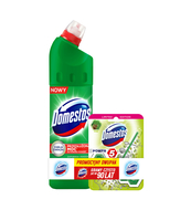 DOMESTOS PINE 750 ML + DOMESTOS POWER5 KOSTKA - ZESTAW
