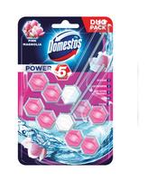 DOMESTOS POWER 5 PINK MAGNOLIA KOSTKA TOALETOWA 2 X 55 G