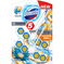 KOSTKI DOMESTOS POWER 5 PLATINUM - DUO PACK BLUE LOTUS & ORANGE
