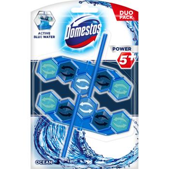 KOSTKI DO TOALET DOMESTOS POWER 5+ BLUE WATER - OCEAN