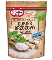 DR. OETKER CUKIER Z BRZOZY - KSYLITOL 200G