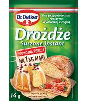 DR. OETKER DROŻDŻE INSTANT 14G