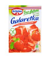 DR. OETKER GALARETKA BEZ GLUTENU O SMAKU TRUSKAWKOWYM 77 G