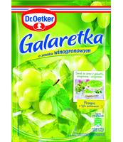 DR. OETKER GALARETKA O SMAKU WINOGRONOWYM 77G