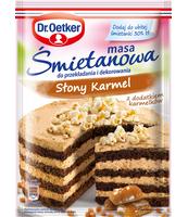 DR. OETKER MASA ŚMIETANOWA SMAK SŁONY KARMEL 85 G
