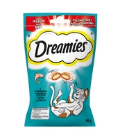 DREAMIES Z ŁOSOSIEM 60G
