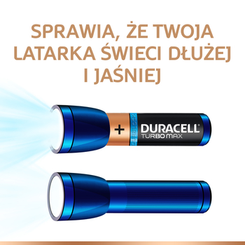 BATERIE ALKALICZNE DURACELL TURBO MAX TYP AA