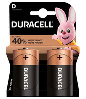 BATERIE ALKALICZNE DURACELL TYP D