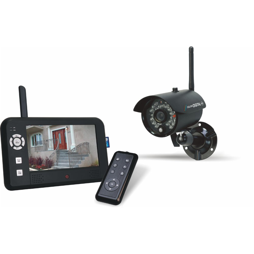 elro zestaw kamery z monitorem cs95dvr 5968829926 oficjalne archiwum allegro. Black Bedroom Furniture Sets. Home Design Ideas