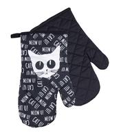 KOMPLET RĘKAWIC BLACK CAT CZARNY