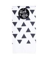 RĘCZNICZEK KUCHENNY BLACK & WHITE GRAFITOWY