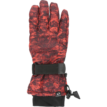 RĘKAWICE NARCIARSKIE DAMSKIE EVERHILL RED700A CZERWONY ALLOVER XL