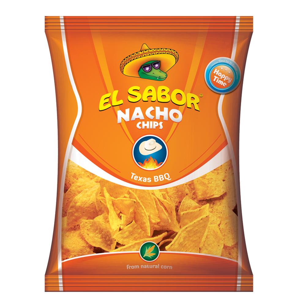 NACHOS BARBECUE 100G EL SABOR