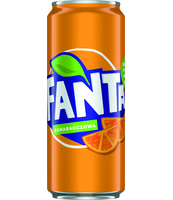 FANTA ORANGE 330ML PUSZKA