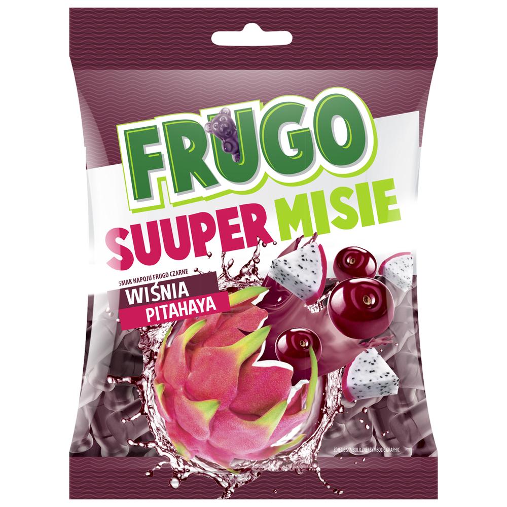 FRUGO SUUPER MISIE SMAK NAPOJU FRUGO CZARNE 90 G