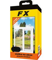 FX SIATKA NA OKNO 130X150 CZARNA