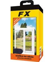 FX SIATKA NA OKNO 130X150 GRAFITOWA
