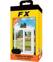 FX SIATKA NA OKNO 150X180 CZARNA