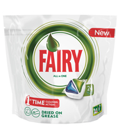 FAIRY ALL IN1 GREEN TABLETKI DO ZMYWARKI 24 SZT