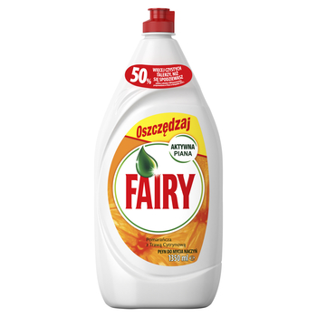 FAIRY ORANGE PŁYN DO MYCIA NACZYŃ 1350 ML