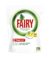 FAIRY ORIGINAL ALL IN ONE LEMON TABLETKI DO ZMYWARKI 44 SZTUK