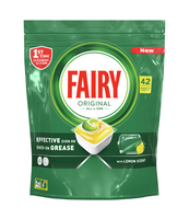 FAIRY ORIGINAL ALL IN ONE YELLOWTABLETKI DO ZMYWARKI, 42 SZT