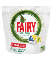 FAIRY ORIGINAL ALL IN ONE LEMON KAPSUŁKI DO ZMYWARKI 24 SZTUKI