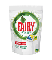 FAIRY ORIGINAL ALL IN ONE LEMON KAPSUŁKI DO ZMYWARKI 60 SZTUKI