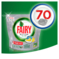 FAIRY PLATINUM ALL IN ONE LEMON KAPSUŁKI DO ZMYWARKI 70 SZTUK