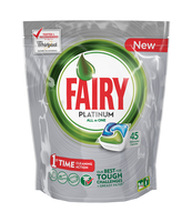 FAIRY PLATINUM ALL IN ONE REGULAR KAPSUŁKI DO ZMYWARKI 45 SZTUK