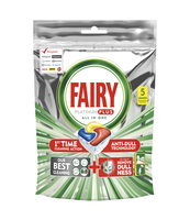 FAIRY PLATINUM PLUS ALL IN ONE LEMON, KAPSUŁKI DO ZMYWARKI, 5 KAPSUŁEK