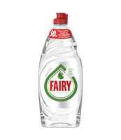 FAIRY PURE & CLEAN PŁYN DO MYCIA NACZYŃ, 0% PERFUM I BARWNIKÓW, 650 ML