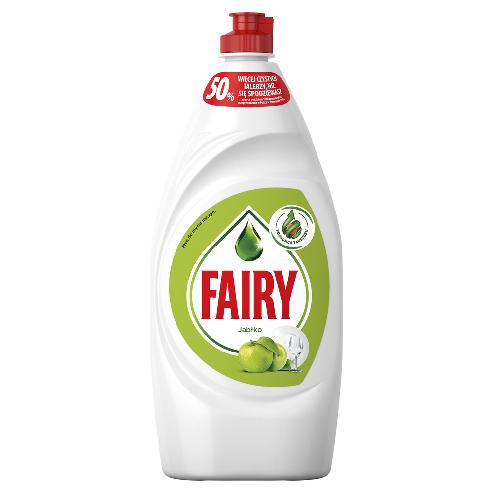 FAIRY PŁYN DO MYCIA NACZYŃ APPLE 900ML
