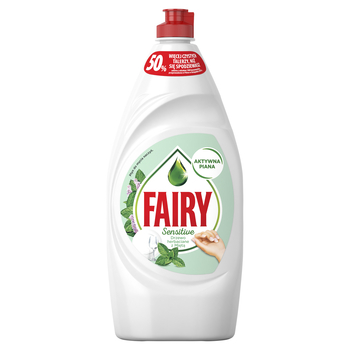 FAIRY PŁYN DO MYCIA NACZYŃ TEATREE & MINT 900ML
