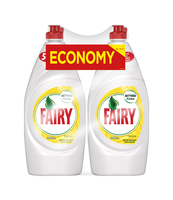 FAIRY PŁYN DO MYCIA NACZYŃ CYTRYNOWY 2X900ML