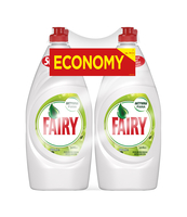 FAIRY PŁYN DO MYCIA NACZYŃ JABŁKOWY 2X900ML