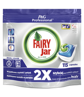 FAIRY JAR PROFESSIONAL KAPSUŁKI DO ZMYWARKI 115 SZT