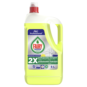 FAIRY PROFESSIONAL LEMON PŁYN DO MYCIA NACZYŃ 5L