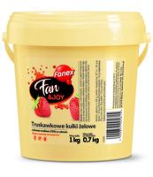 FANEX FAN&JOY TRUSKAWKOWE KULKI ŻELOWE 1 KG/0,7 KG