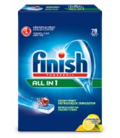 FINISH ALL IN ONE 78 TABLETEK LEMON