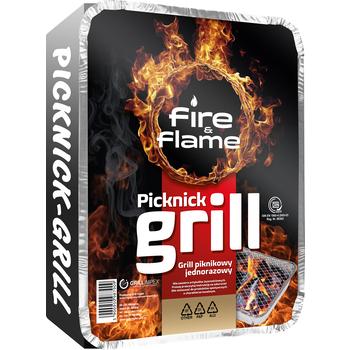 GRILL PIKNIKOWY JEDNORAZOWY FIRE&FLAME