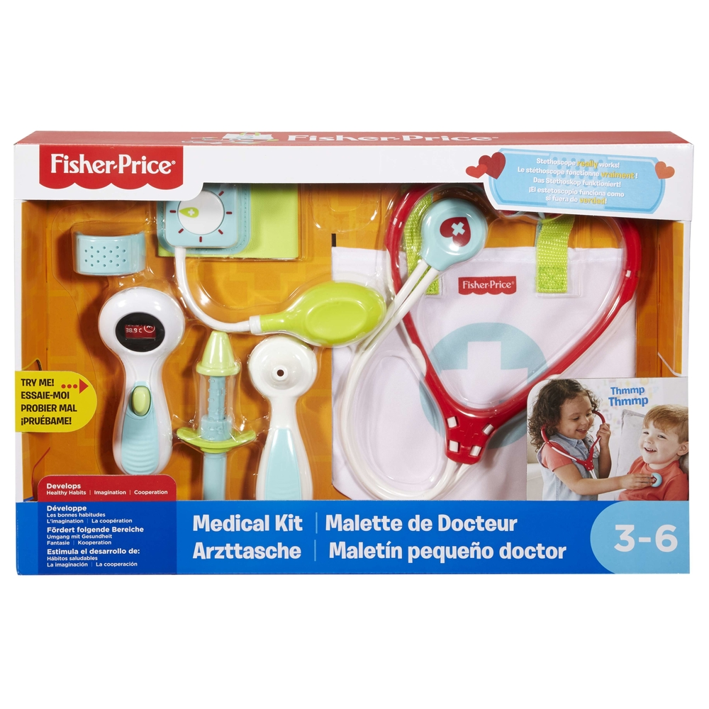 FISHER PRICE MAŁY DOKTOR